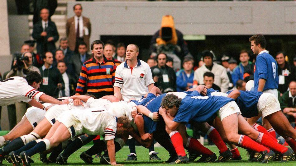 France Angleterre 1/4 de finale Coupe du monde 1991