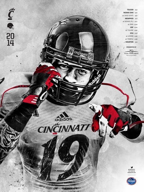 Mobile Apps Fan On Football Helmets Football Cincinnati Bearcats