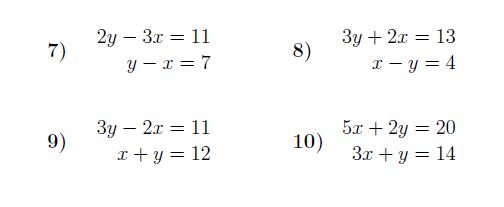 Simultaneous Equations Substitution Worksheet With Solutions Simultaneous Equations Learning Mathematics Algebra Worksheets