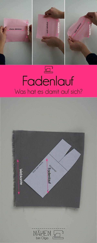Photo of Fadenlauf. Worum geht es?