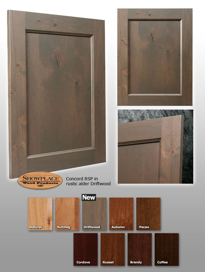 Driftwood Finish Kitchen Cabinets | Alder.driftwood Kitchen Cabinets  Driftwood Finish