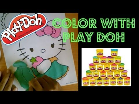 Play Doh Coloring Page Hello Kitty Pastel Strawberry Cat Coloring Book Hello Kitty Coloring Hello Kitty Colouring Pages