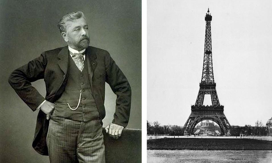 Alexandre Gustave Eiffel (born Bonickhausen dit Eiffel) 1832 – 1923, was a French civil engineer and architect. In 1879, the chief engineer on the Statue of Lib…