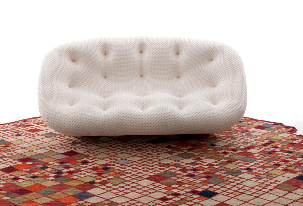 Sofa Ploum De Los Hermanos Franceses Ronan Erwan Bouroullec