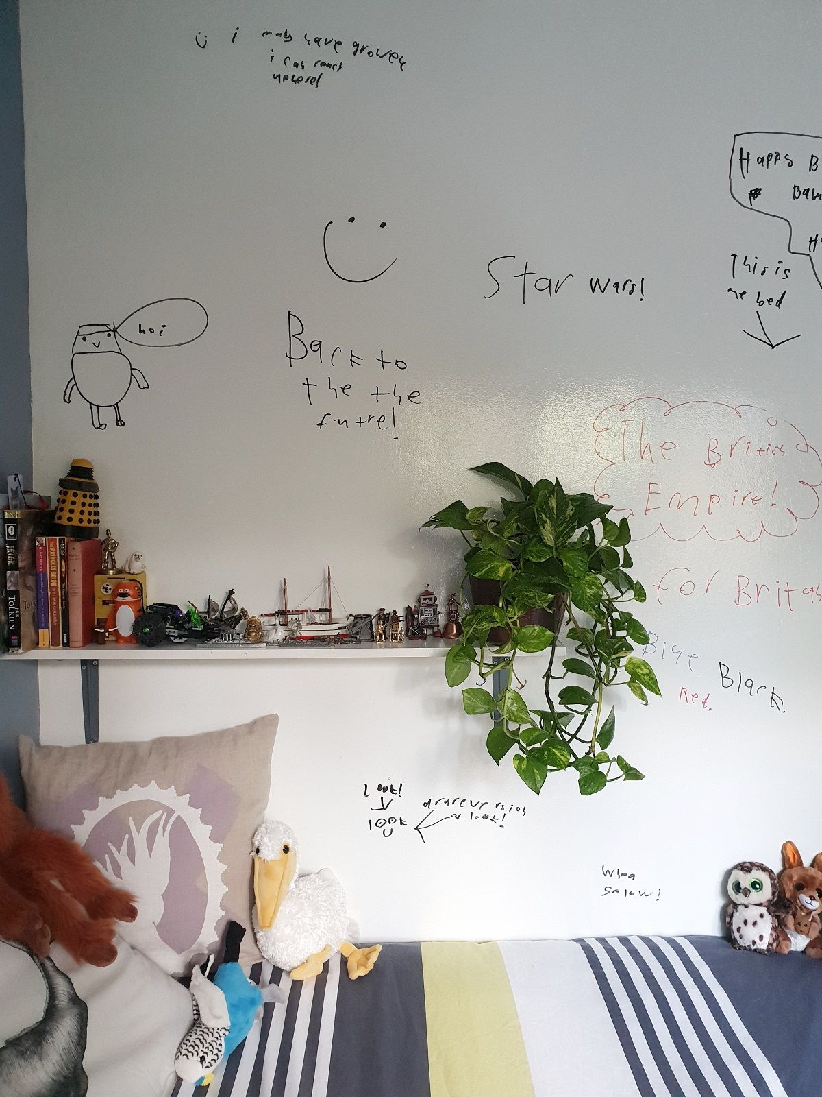 Turn A Wall Into A Whiteboard How To Turn A Wall Into A Whiteboard Using Paint Diys