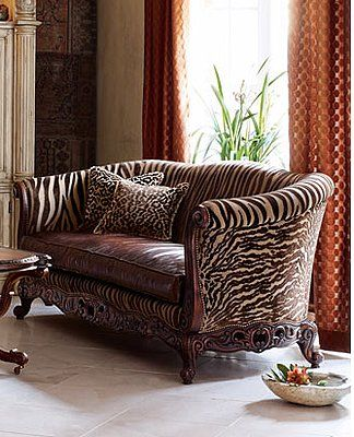 Love It Or Hate It Tiger Stripe Sofa For The Home