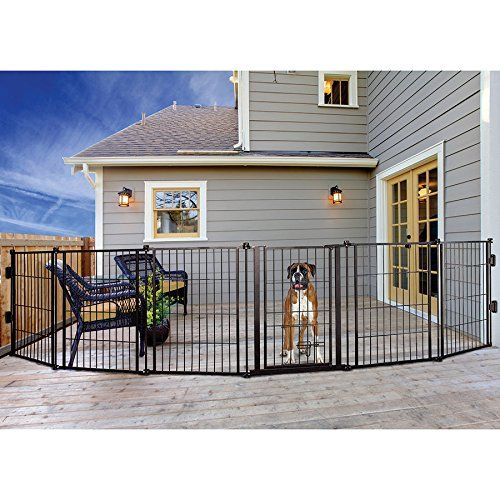 Dog Gate Pet Outdoor, Best Outdoor Pet Gates