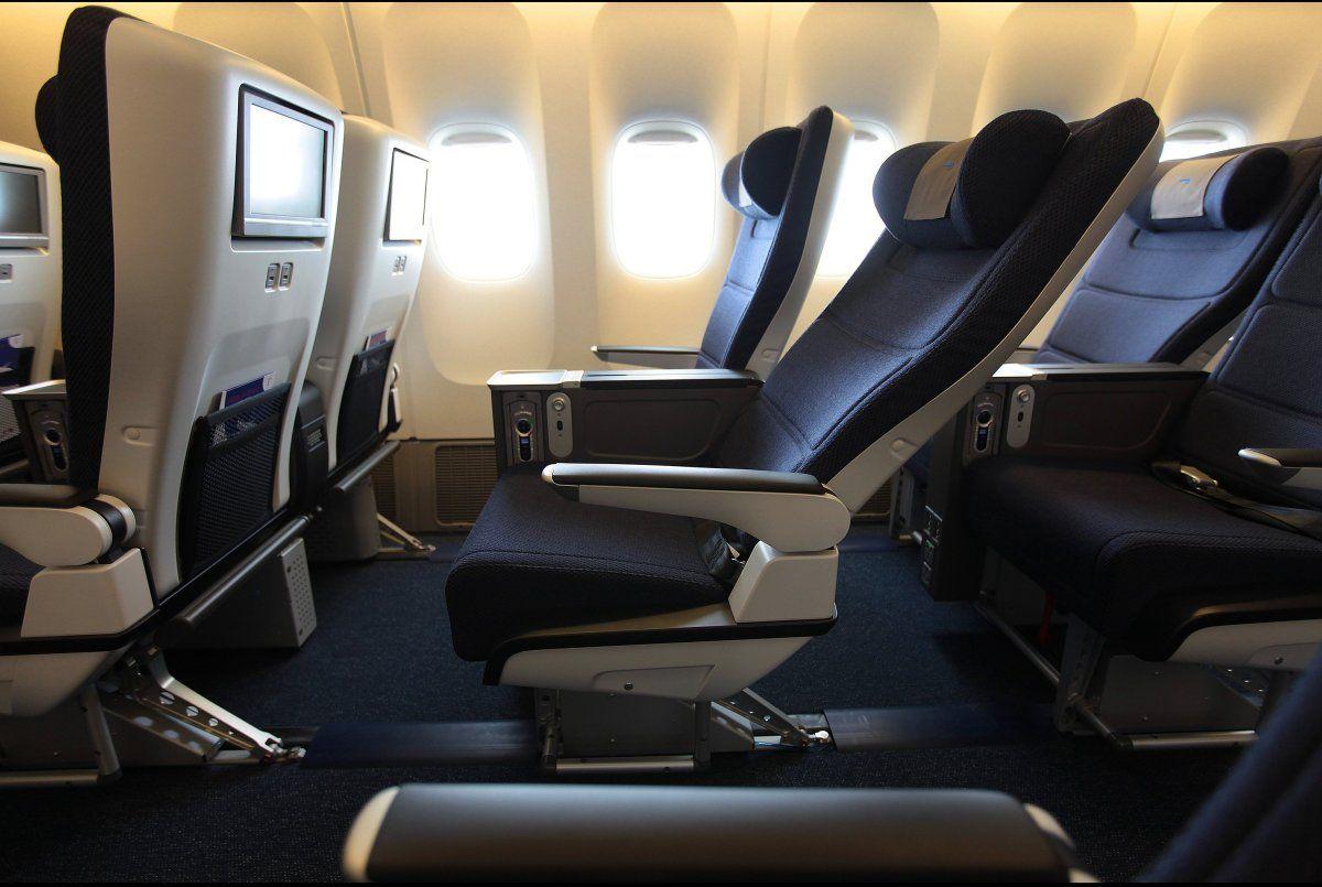 The New British Airways Premium Economy Seating. Looking