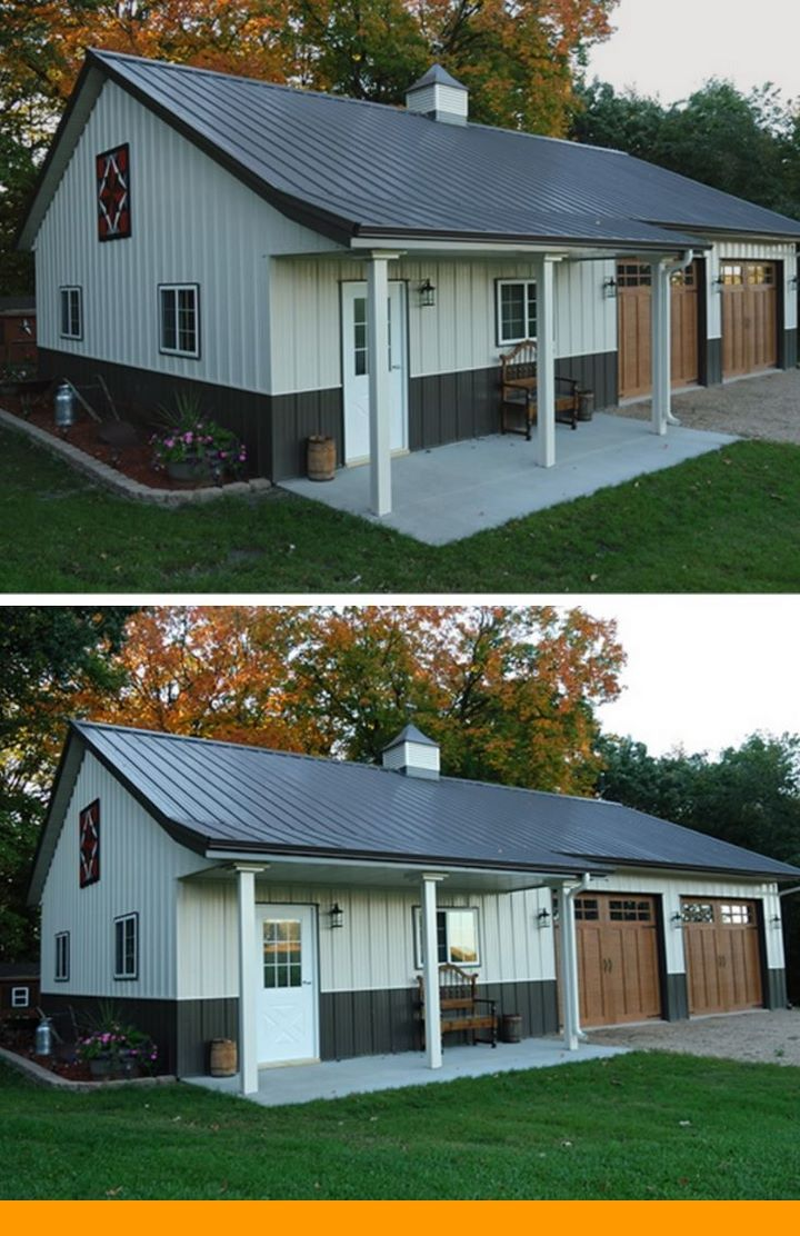 A Basic Guide on Open Concept Metal Building Homes Ideas. #metalbuildingscolors #metalbuildinghouses