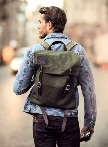 1c7cee44fd38 17 Fashionable Grown-Up Men Backpacks To Get Inspired - Styleoholic Backpack  Outfit