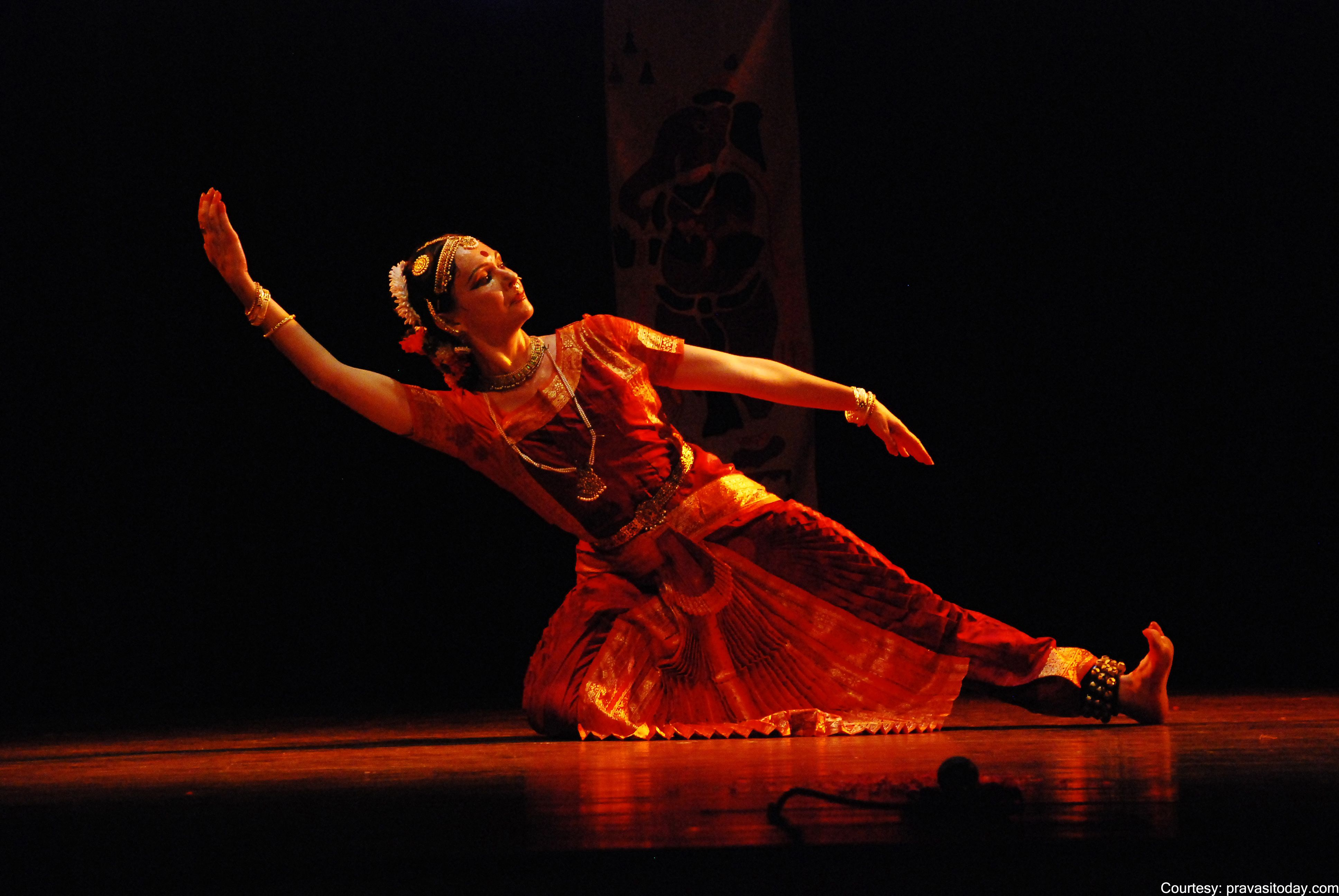 A Popular Classical Indian Dance Form, Bharata Natyam