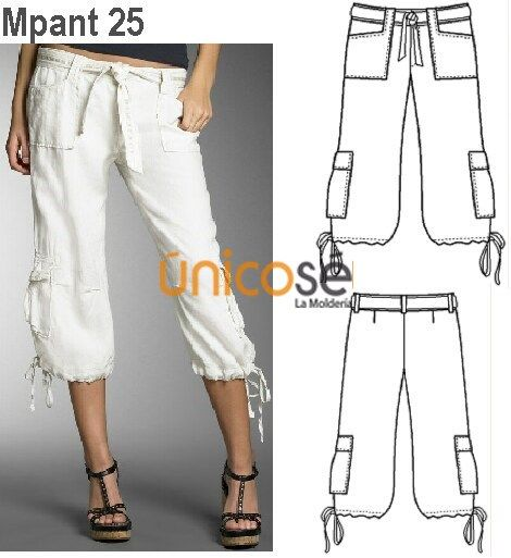 Moldes Unicose Pants Pattern Clothes Design Clothes Sewing Patterns