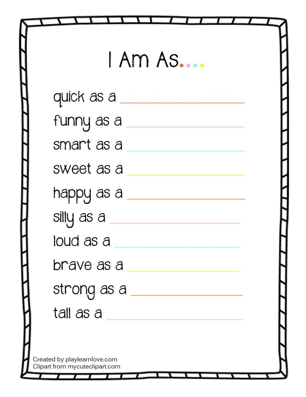Image Result For All About Me Math Activities For
