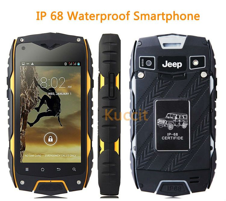 Quad Core Ips Rugged Smartphone Ip68