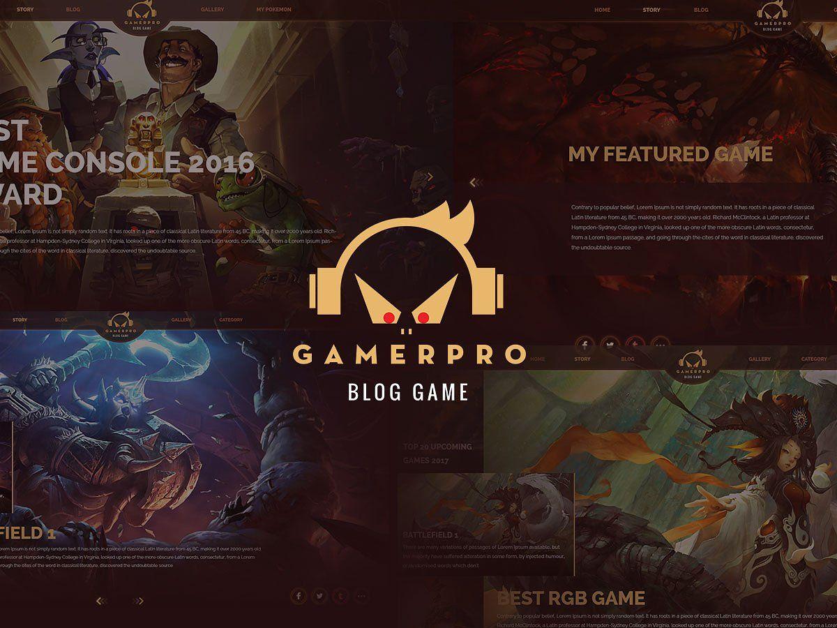 Game pro wordpress theme for games blog themes