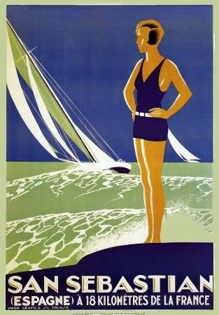VISIT HOLLAND vintage french tourism poster COLLECTORS HISTORIC 24X36 new