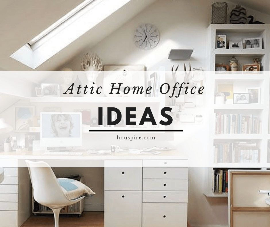 Attic Home Office Ideas Houspire Putting