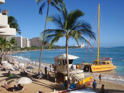 Visit Pacific Beach In Waikiki Hotel