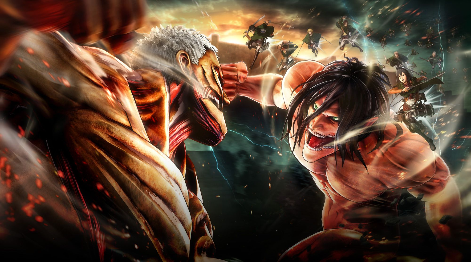 After the sinking of the titanic on april 15, 1912, the great ship slumbered on the floor of the atlantic oc. Eren Jaeger Vs Naruto - Down Naruto Amino : Eren jaeger ...