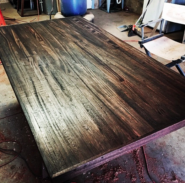 Just finishing up on this mahogany kitchen island. Working with reclaimed wood is always fun! #Mahogany #MahoganyFurniture #KitchenIsland #ReclaimedWoodKitchenIsland #WoodKitchenIsland #Counter #Countertop #WoodCountertop #ReclaimedWood #ReclaimedWoodFurniture #ReclaimedWoodArt #ReclaimedWoodDecor #ReclaimedWoodDesign #ReclaimedWoodwork #ReclaimedWoodenFurniture #ReclaimedWoodworking #ReclaimedWoodworks #ReclaimedWoodArtist #RepurposedWood #RepurposedWoodFurniture  #RepurposedWoodDecor