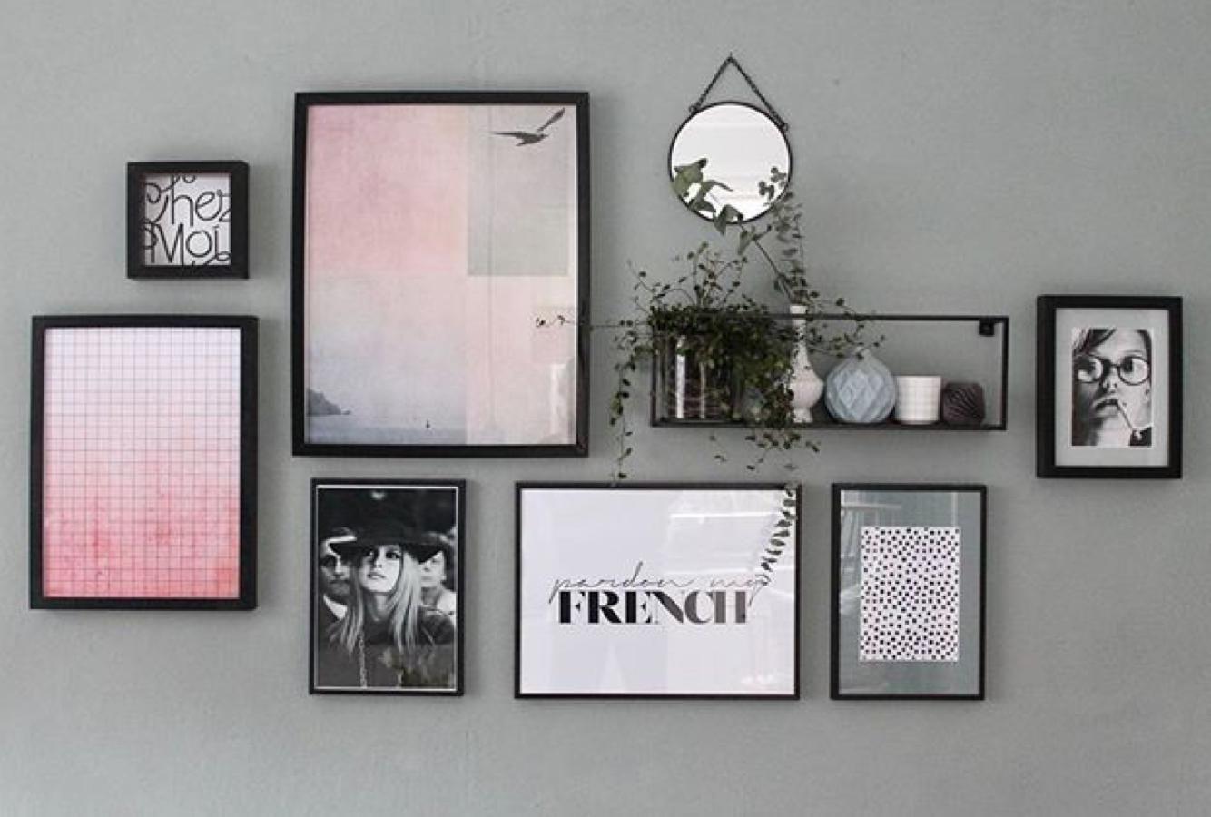 Bilderwand gestalten & Poster aufhängen | JUNIQE | Fotowand in 2018 ...