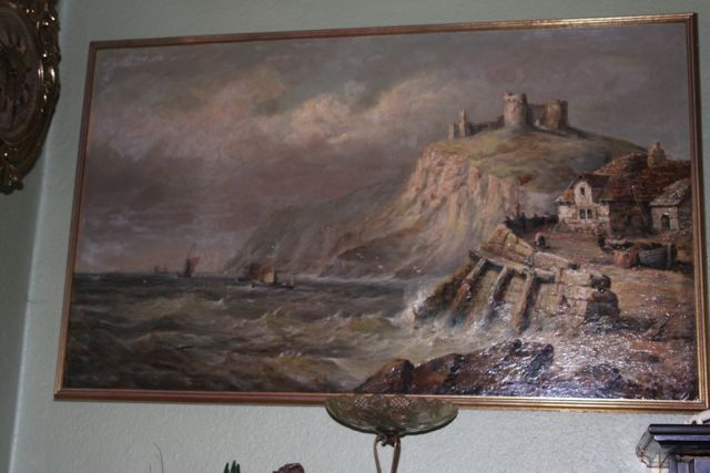 big painting Henri Bayley Snell private collection