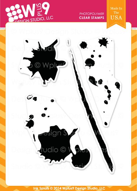 Ink Splats - WPlus9 Design Studio, LLC