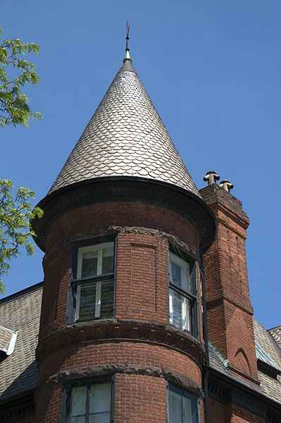 1 Cone Spire Roofing Roof Roof Styles Victorian Style Homes