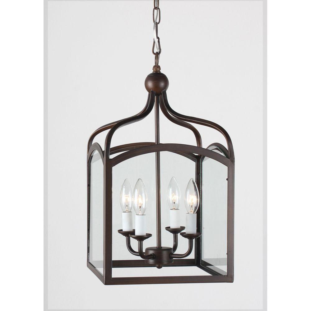 Vintage Foyer Lighting : Ashley antique copper light foyer hanging lantern