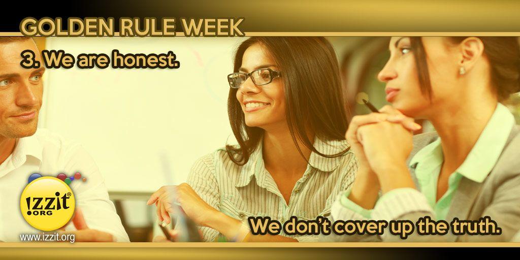 Golden Rule Week -  #honesty #truth #goldenrule #wisdom #teach #learn #students #educate #inspire