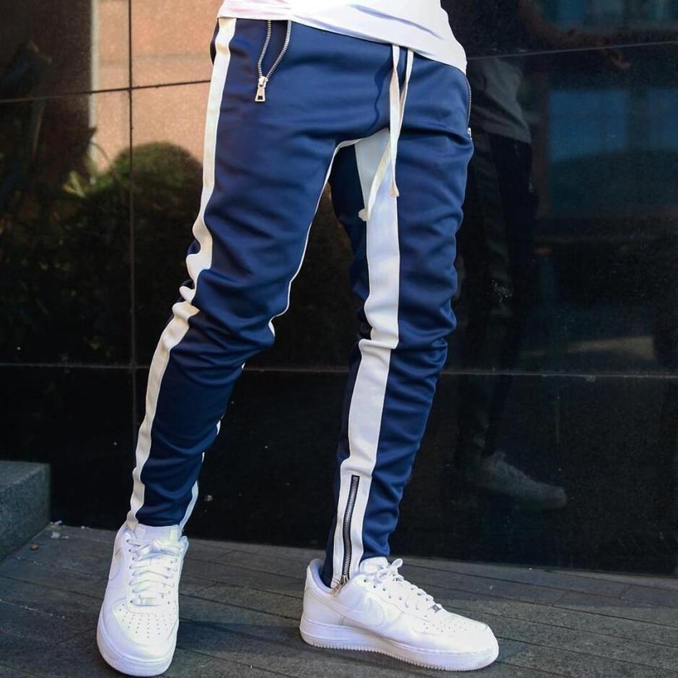 Men/'s Tracksuit Sport Gym Loose Fit Jogging Pants Workout Trousers Sweatpants