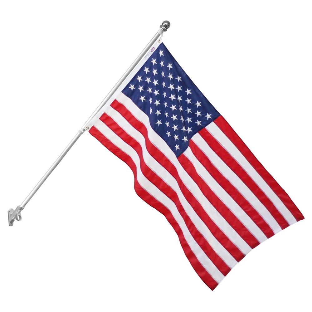 2 CAR WINDOW AMERICAN CLOTH FLAGS motorcycle usa flag