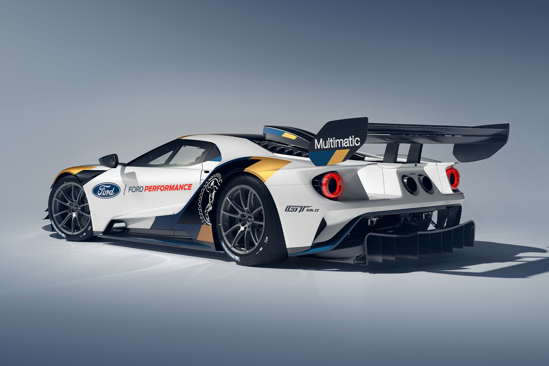 Ford Gt Mk Ii Coupe With Images Ford Gt Super Cars Racing