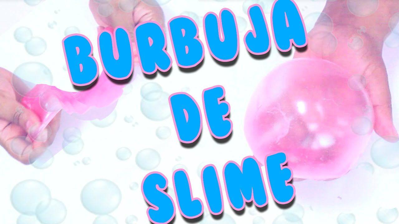 DIY   BURBUJA DE SLIME  COMO HACER SLIME SIN BORAX