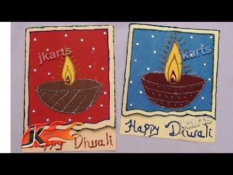 Diy how to make diwali greeting card school project for kids jk diy how to make diwali greeting card school project for kids jk arts m4hsunfo