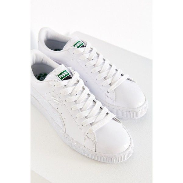 best website 3ced0 3cbdd Puma Patent Sneaker (21 KWD) ❤ liked on Polyvore featuring ...