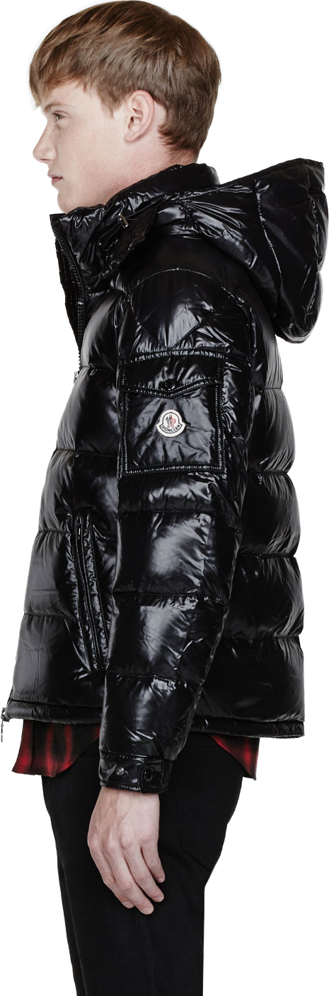 Moncler - Black Quilted Down Maya Jacket