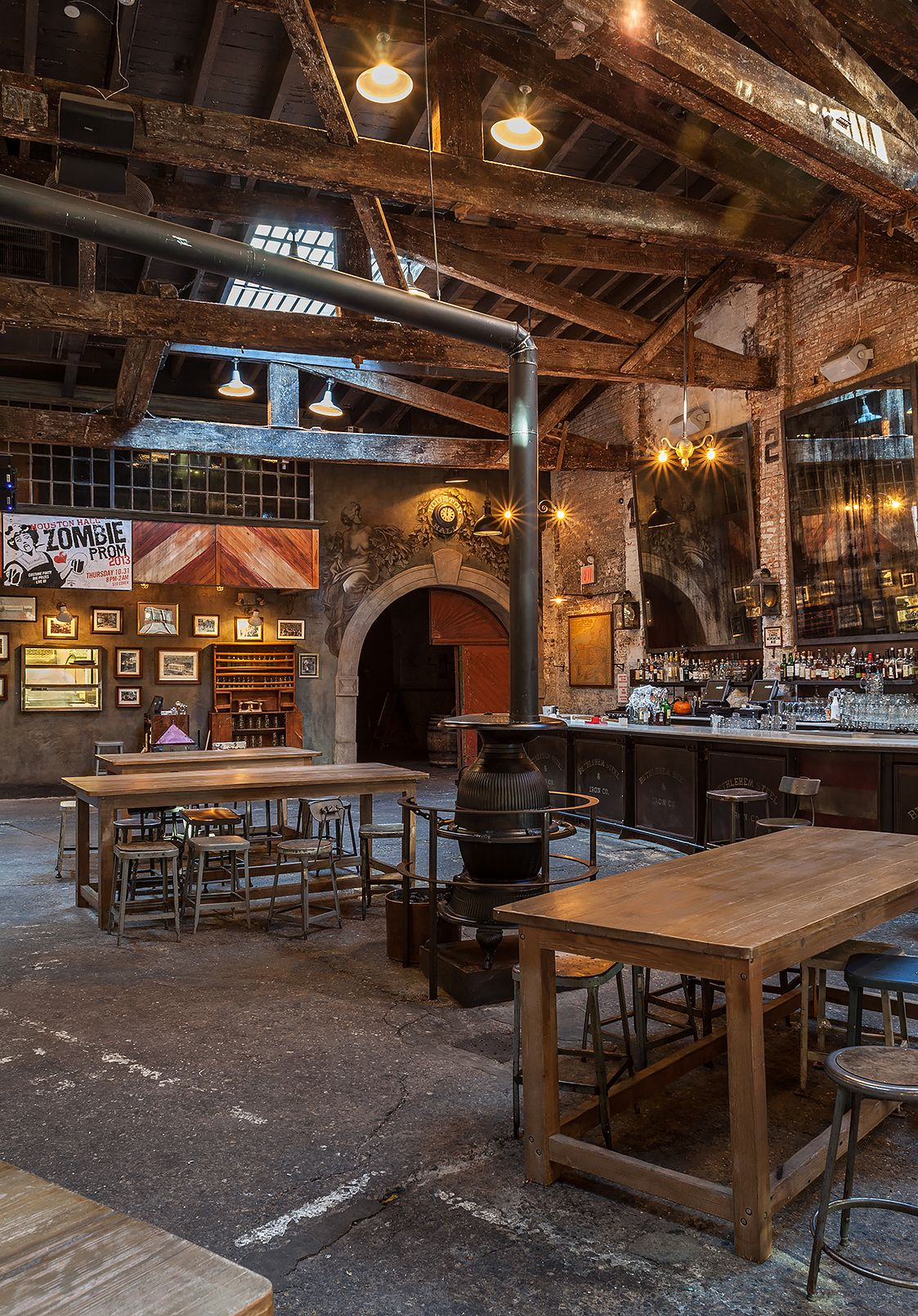 Houston Hall is a beer hall located in New York City's