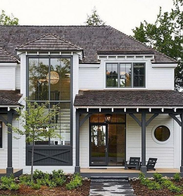Amazing Barndominium Exterior Design En 2019: 40+ Amazing Modern Farmhouse Design Ideas In 2019