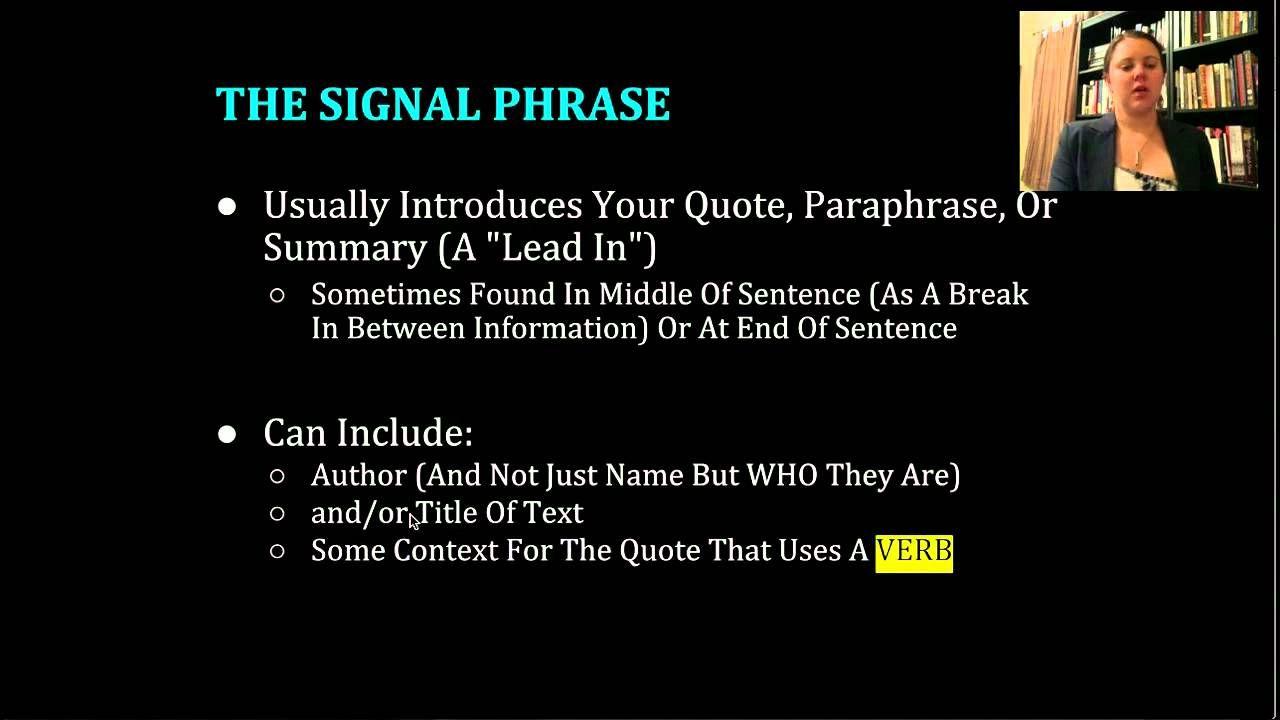Mla Formatting In Text Citation The Basic Format Owl Purdue Apa Paraphrasing