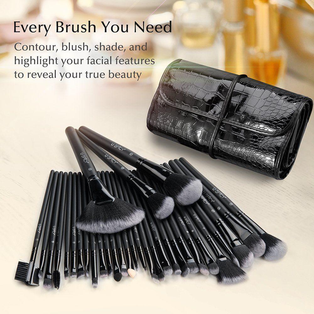 Makeup Brush Set, USpicy 32 Pieces Professional Makeup