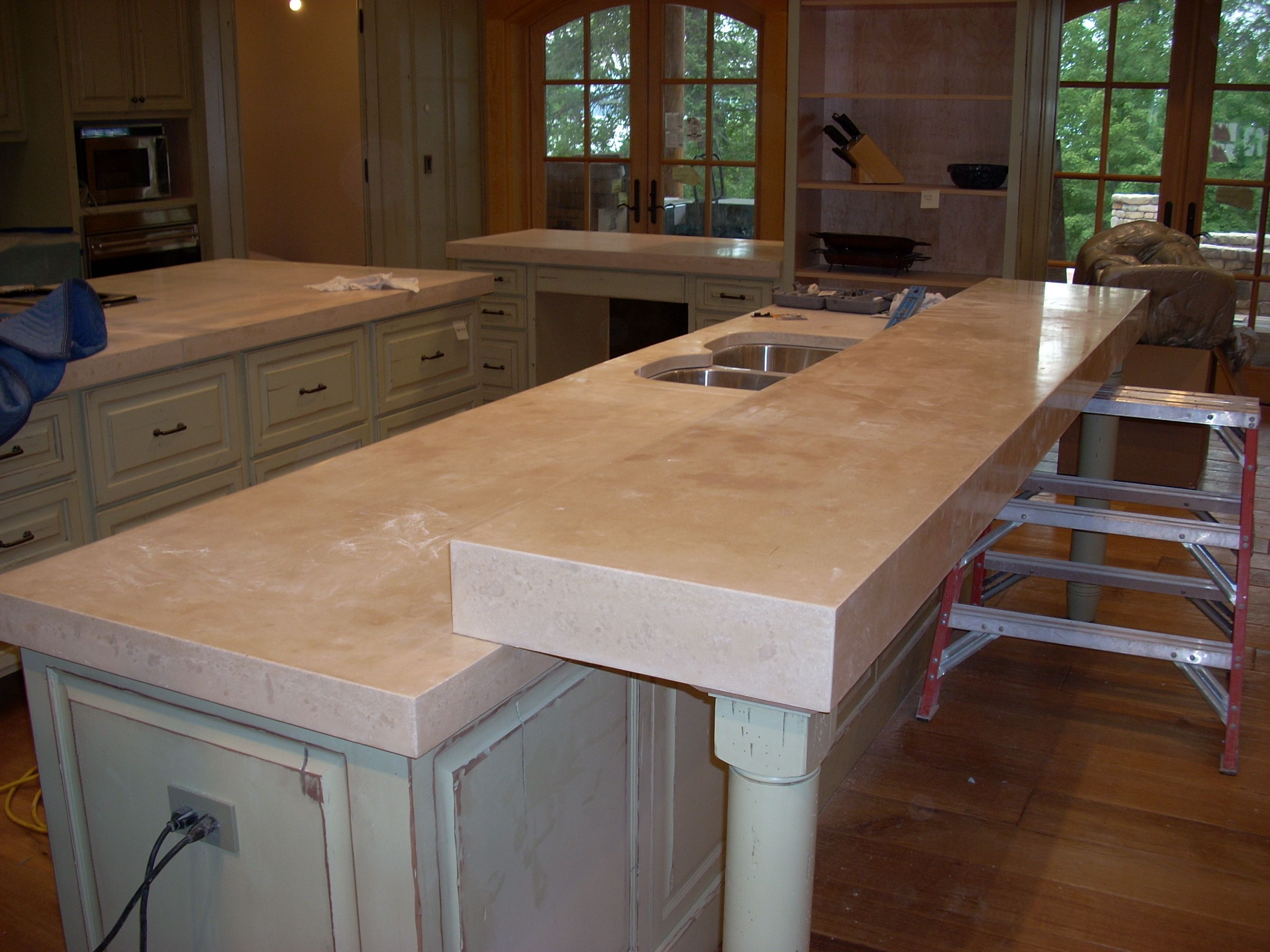 Amazing Cement Countertops Design: Decorating Ideas With Concrete Kitchen  Countertops
