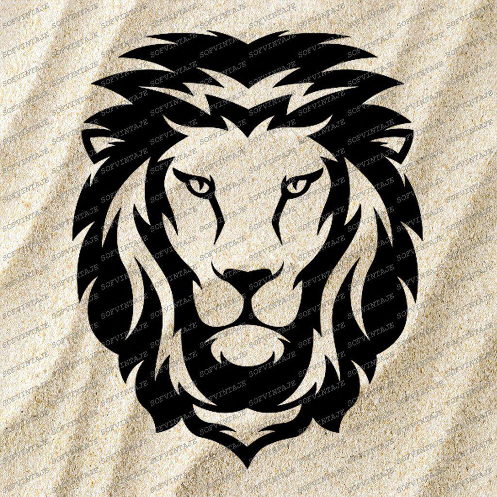 Download Get Lion Head Svg File Free Background Free SVG files ...
