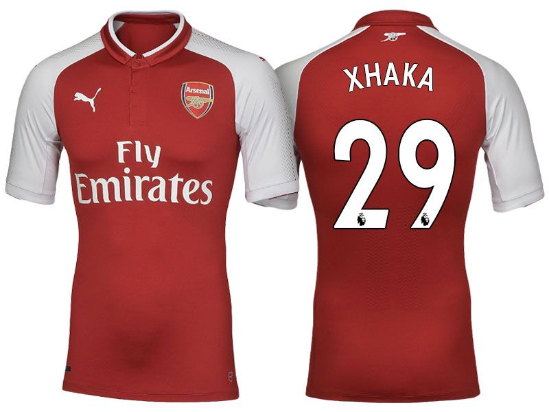 66f4a2518 Arsenal  29 Granit Xhaka 17-18 Home Short Shirt