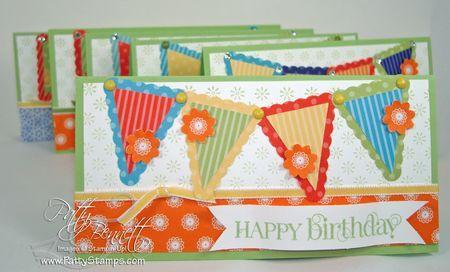 Pennant Birthday Cards
