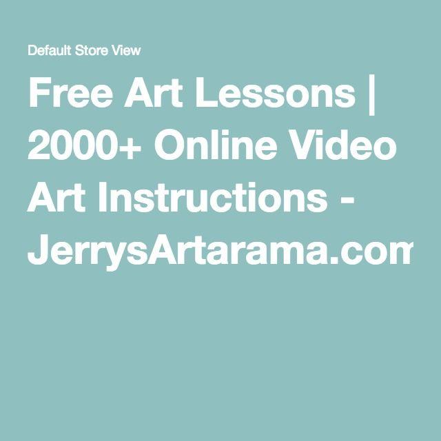 Free Art Lessons | 2000+ Online Video Art Instructions - JerrysArtarama.com