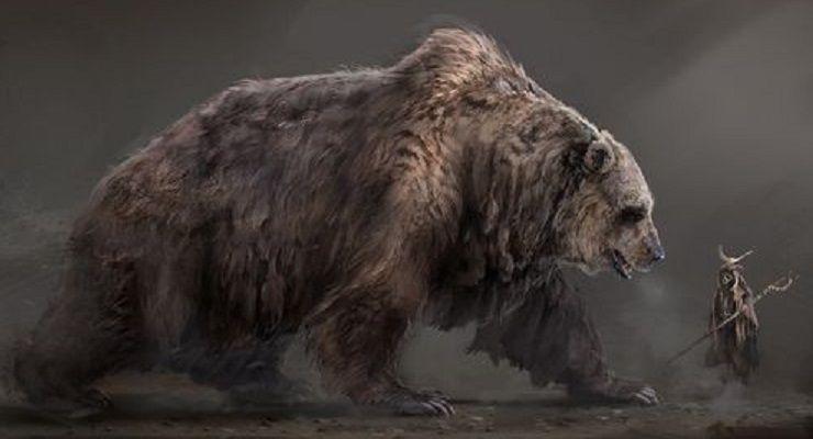 Giant Bear By Zero Dawn Bear Artwork Bear Art Prehistoric Animals