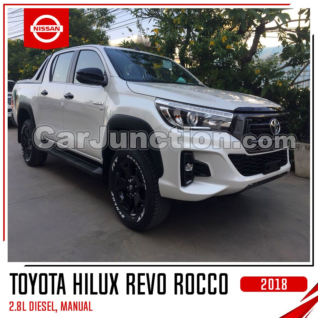 2018 Toyota Hilux Revo Rocco White Manual 2 8l Diesel For Sale