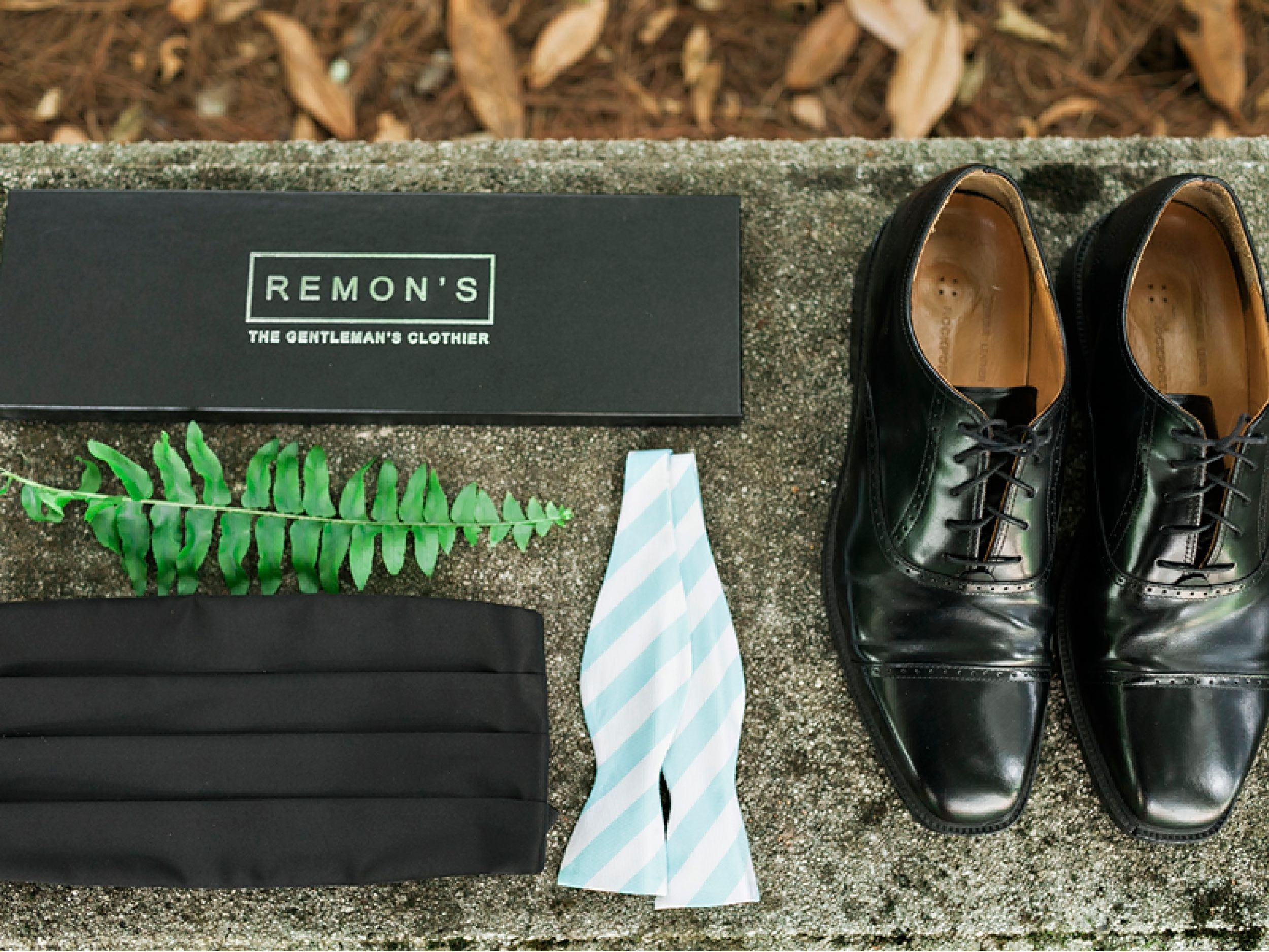 Mary Frances & David: Colorful Summer Wedding #bowtie #groom