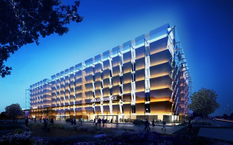 Riva Hotel Foster And Partners Arch2o Com Hotel Architecture Hotel Facade Hotels Design